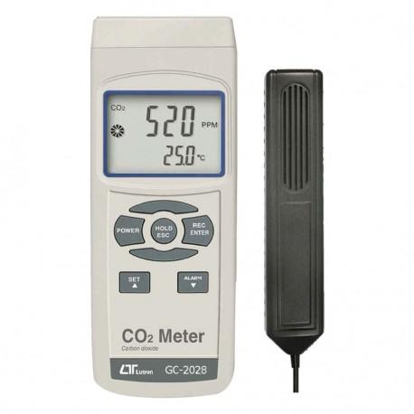 دی اکسید کربن سنج (CO2 متر) لوترون مدل LUTRON GCH-2028