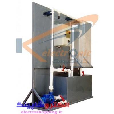 پلنت آزمایشگاهی کنترل سطح و جریان مایع