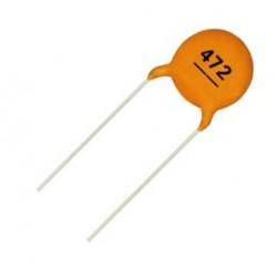 خازن عدسی 4.7 نانو فاراد - بسته 10 تایی