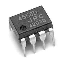 آی سی تقویت کننده عملیاتی 4558D