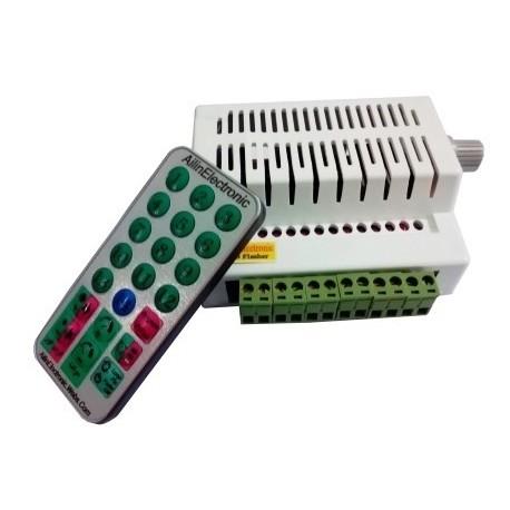 فلاشر 12 کانال ریموت دار قابل برنامه ریزی R8
