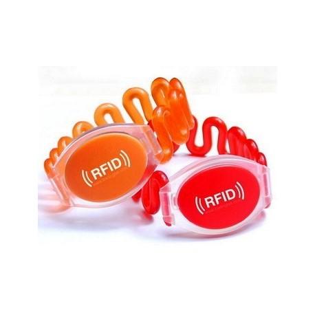 تگ RFID دستبندی فنری 125KHz فقط خواندنی
