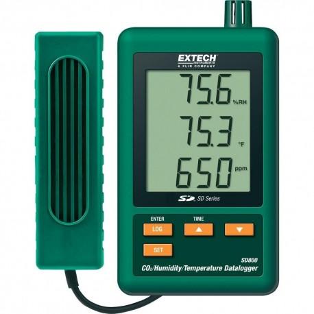 دی اکسید کربن سنج (CO2 متر) لوترون مدل EXTECH SD800