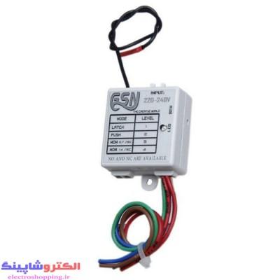 گیرنده ریموتی تک رله 220 ولت خازنی