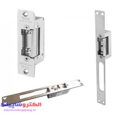 قفل برقی (برابری الکتریکی) داخل چهار چوب درب تابا 12V