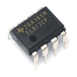 تقویت کننده عملیاتی TL072CP