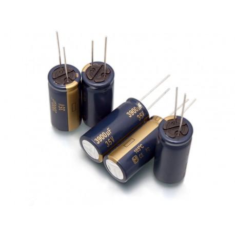 خازن الکترولیت 10 میکروفاراد 16 ولت (بسته 5 تایی)