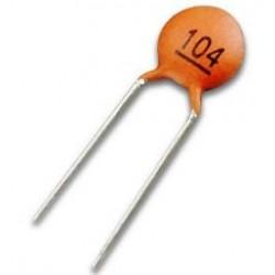 خازن عدسی 100 نانو فاراد - بسته 10 تایی