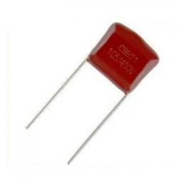 خازن پلی استر 1 میکروفاراد 400 ولت - بسته 5 تایی