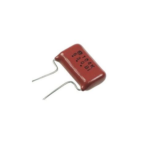 خازن پلی استر 100 نانوفاراد 630 ولت - بسته 5 تایی