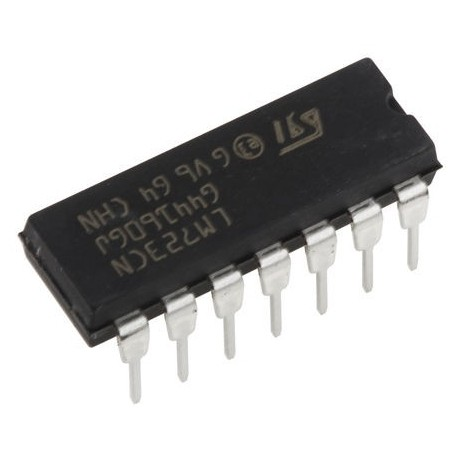 رگولاتور قابل تنظیم LM723N