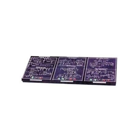 ست آزمایشگاهی آموزش مدارهای الکتریکی (1 و 2 و 3)