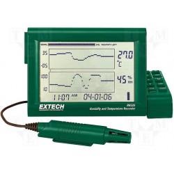 ترموگراف و رطوبت سنج مارک اکستچ مدل EXTECH RH520A-240